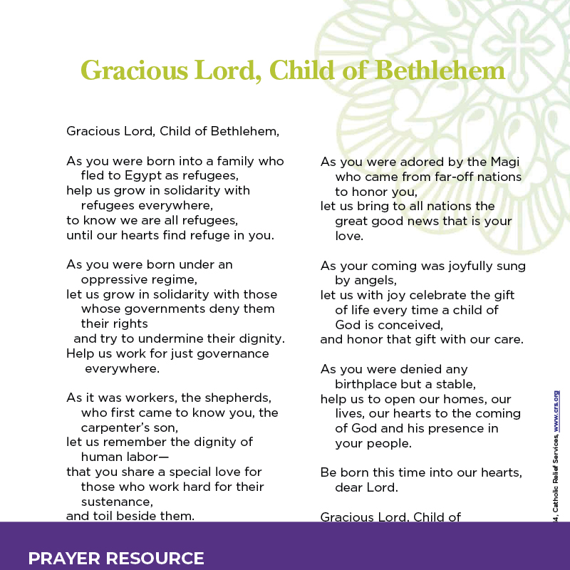 Gracious Lord, Child of Bethlehem