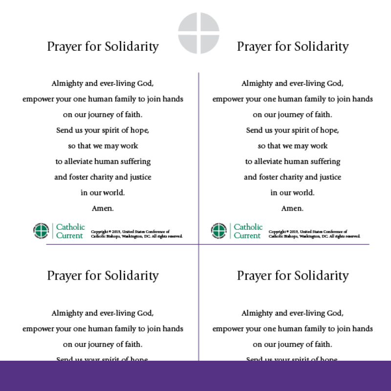 Prayer for Solidarity