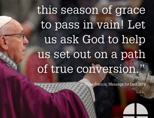 Shareable Image – Let us not allow this season of grace to pass in vain!