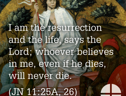 Shareable Image – I am the Resurrection