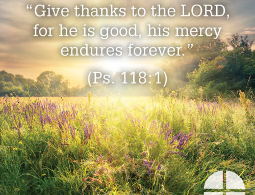 Shareable Image – His Mercy Endures Forever