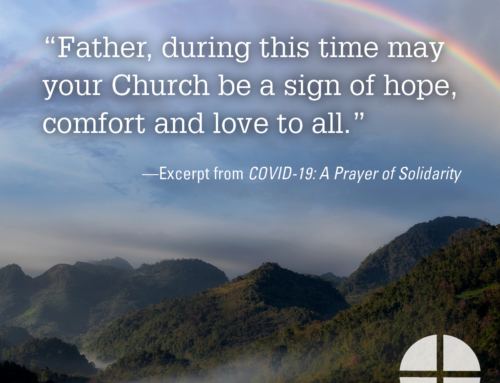 Shareable Image— A sign of hope, comfort and love