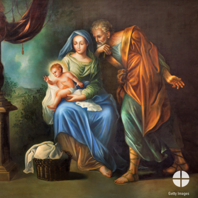 Today we celebrate the feast of the Holy Family of Jesus, Mary and Joseph! How does your family spend quality time together?